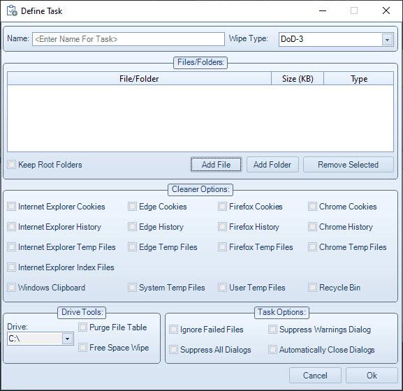 XL Delete - A Secure Delete Tool