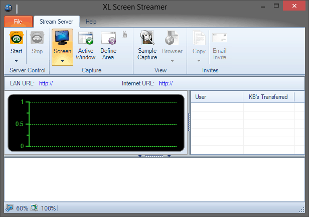 XL Screen Streamer - Screen Stream Your Desktop Online